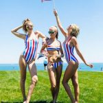 Taylor Swift and Gigi Hadid Wearing One Piece Swimsuit