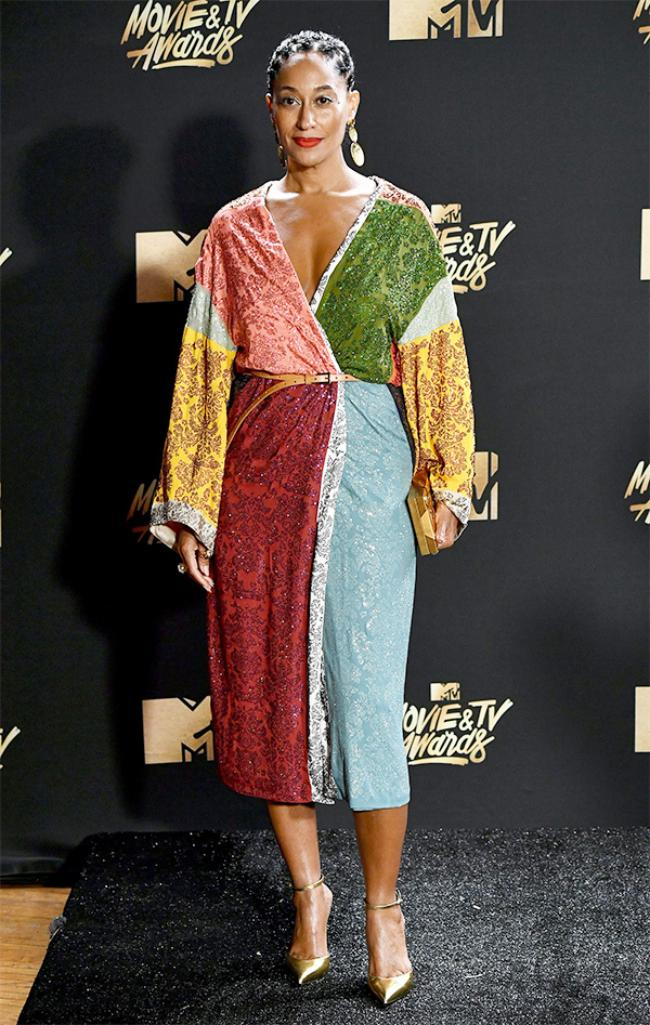 Tracee Ellis Ross Mtv Movie Amp Tv Awards 2017 Best Dressed