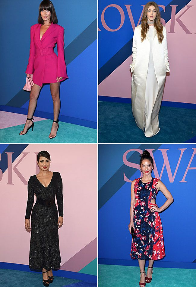 CFDA Awards Red Carpet 2017 Photos