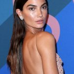 Lily Aldridge CFDA Awards Red Carpet 2017 Photos