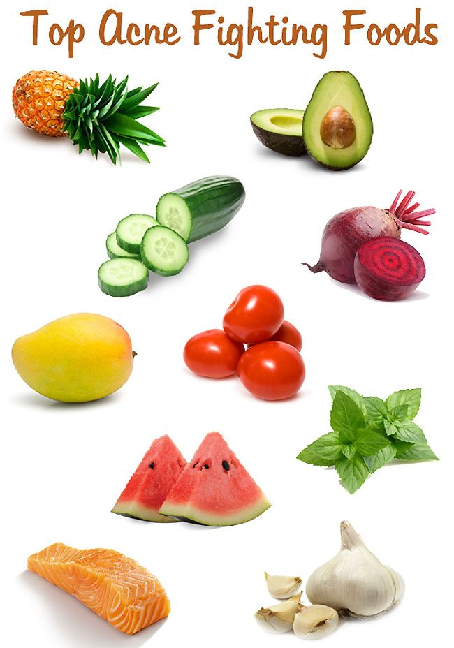 Best Acne Fighting Foods