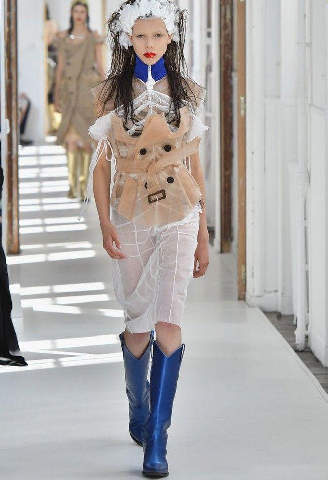 Maison margiela paris haute couture week fashion tubes for Margiela haute couture