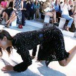 Bella Hadid Falls Wild Fashion Week Mishaps