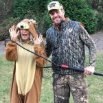 CARRIE UNDERWOOD and MIKE FISHER in Halloween Costumes 2017