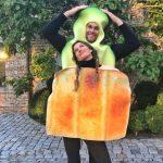 Gisele & Tom in Halloween Costumes 2017