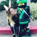 Hilary Duff in Halloween Costumes 2017