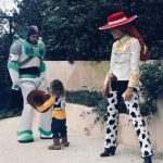 Justin Timberlake, Jessica Biel & Silas in Halloween Costumes 2017