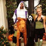 Kendra Wilkinson in Halloween Costumes 2017