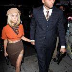 Kourtney Kardashian & boyfriend Younes Bendjima in Halloween Costumes 2017