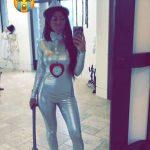 Kourtney Kardashian in Halloween Costumes 2017