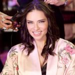 Adriana Lima Backstage at Victoria's Secret Fashion Show 2017