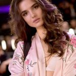 Blanca Padilla Backstage at Victoria's Secret Fashion Show 2017