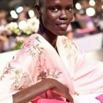 Grace bol Backstage at Victoria's Secret Fashion Show 2017