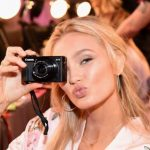 Romee Strud Backstage at Victoria's Secret Fashion Show 2017