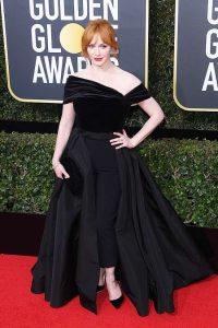 Christina Hendricks Golden Globe Awards Best Dressed