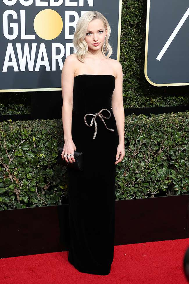 Allison Williams Golden Globe Awards Best Dressed