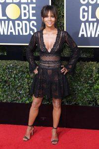 Halle Berry Golden Globe Awards Best Dressed
