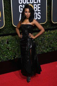 Kerry Washington Golden Globe Awards Best Dressed