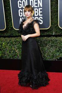 Lily James Golden Globe Awards Best Dressed