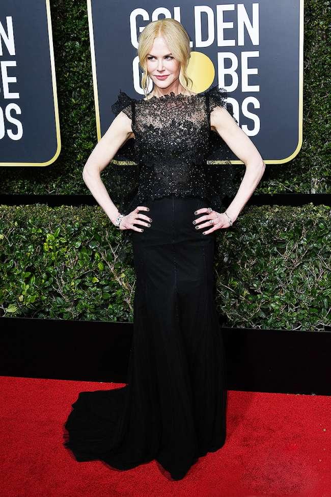 Allison Williams Golden Globe Awards Best Dressed