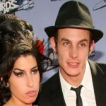 Amy Winehouse with Her Husband