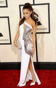 Ariana Grande Sexiest Grammy Dresses