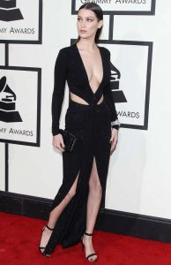 Bella Hadid Sexiest Grammy Dresses