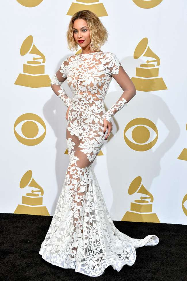 Beyond Sexiest Grammy Dresses