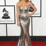 Chrissy Teign Sexiest Grammy Dresses