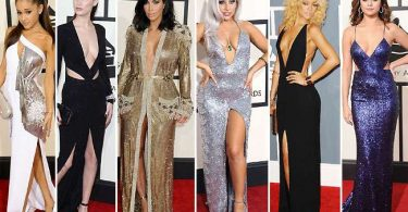 Hollywood Celebrities Sexiest Grammy Dresses