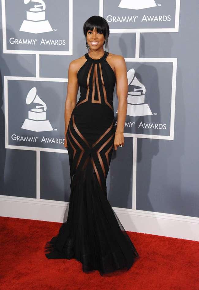 Kelly Rowland Sexiest Grammy Dresses