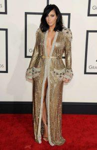 Kim Kardashian Sexiest Grammy Dresses
