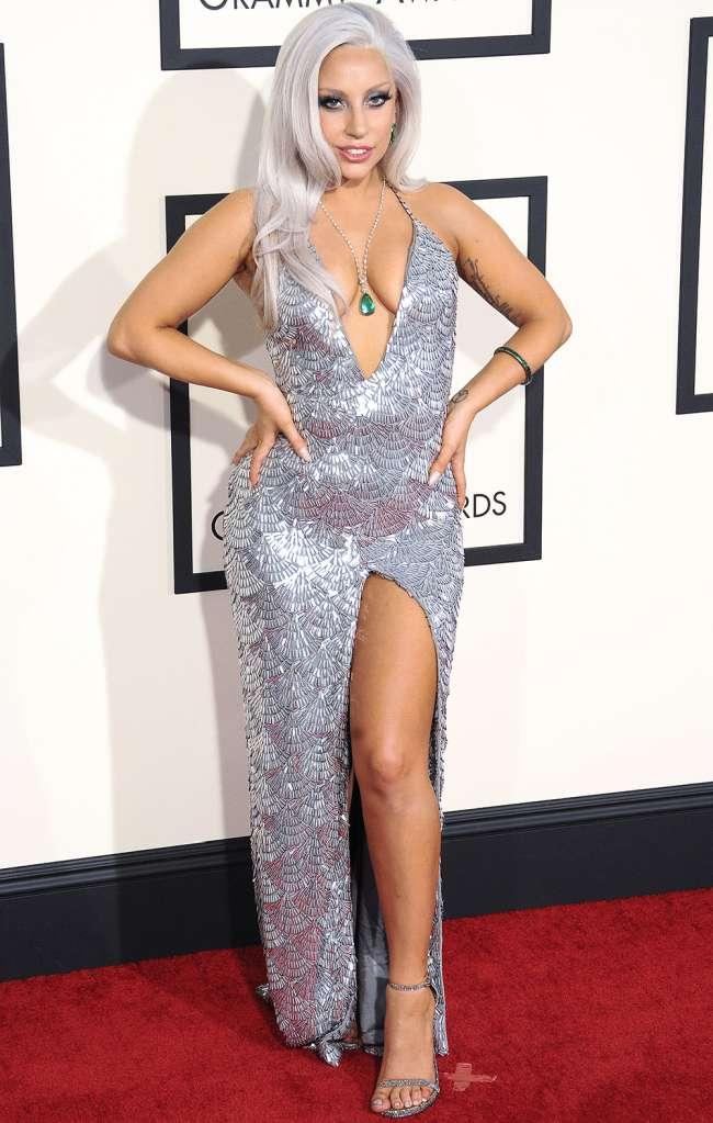 Lady Gaga Sexiest Grammy Dresses