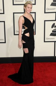 Miley Cyrus Sexiest Grammy Dresses