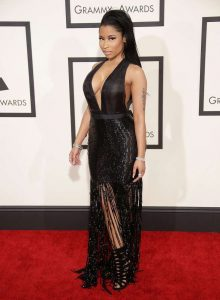 Nicki MInaj Sexiest Grammy Dresses