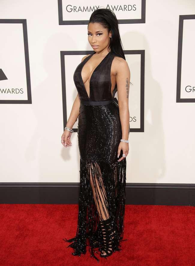 Meghan Markle Partying >> Nicki MInaj Sexiest Grammy Dresses | Fashion Tubes