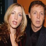 Paul McCartney with Her Husband