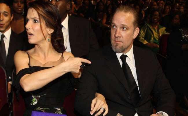 Sandra Bullock with Her Husband