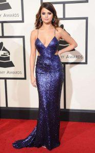 Selena Gomez Sexiest Grammy Dresses