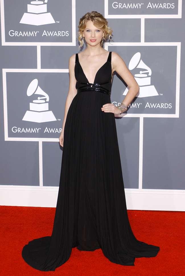 Taylor Swift Sexiest Grammy Dresses