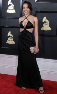 Tinashe Sexiest Grammy Dresses