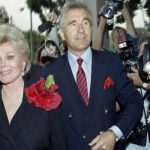 Zsa Zsa Gabor with Her Husband