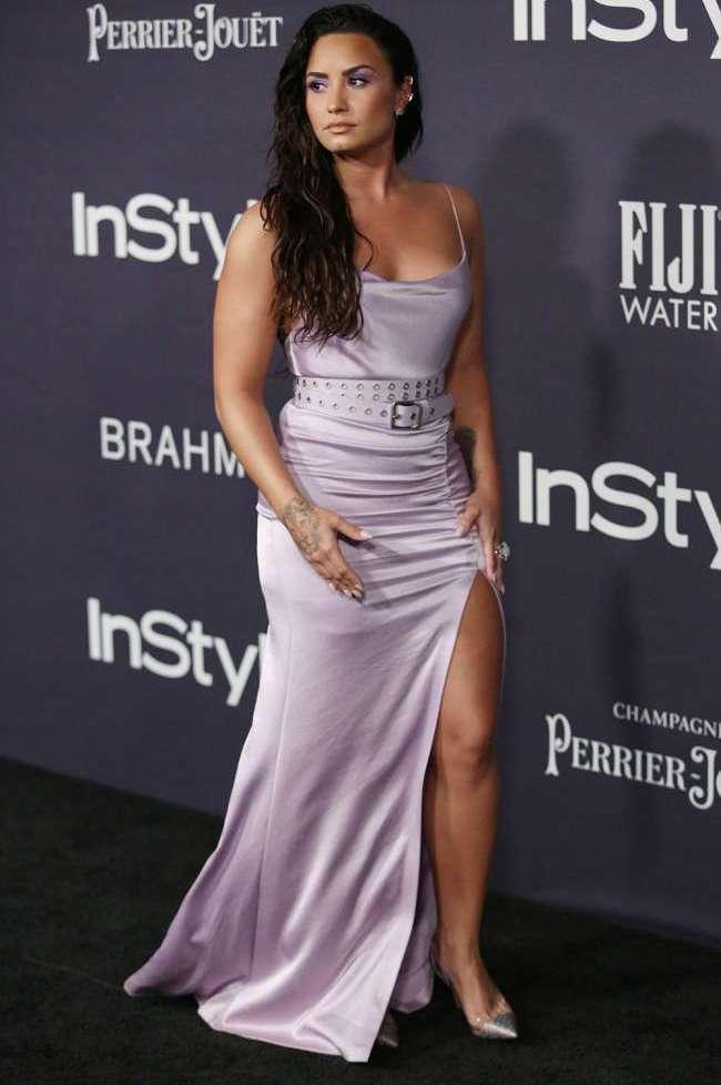 Demi Lovato Risked Wardrobe Malfunction