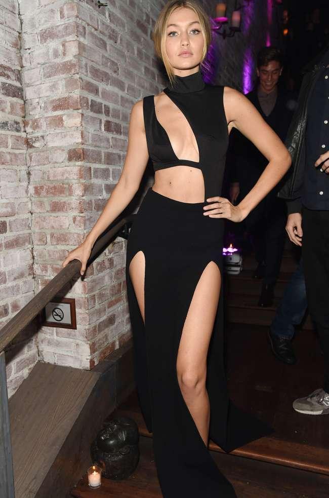 Gigi Hadid Risked Wardrobe Malfunction