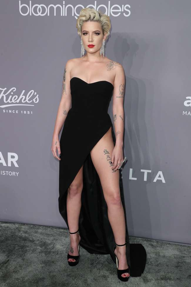 Halsey Risked Wardrobe Malfunction