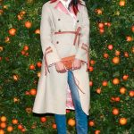 Chanel Iman Trench Coat Picture