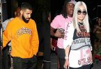 Drake & Blac Chyna Partying at LA Club