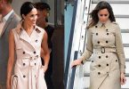 Melania Trump and Meghan Markle Trench Coat