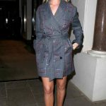 Rosie Huntington Trench Coat Picture