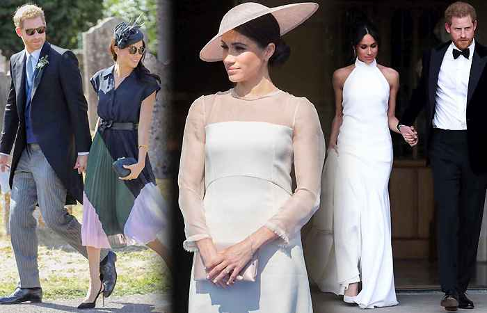 Meghan Markle and Prince Harry Royal Wedding Pics